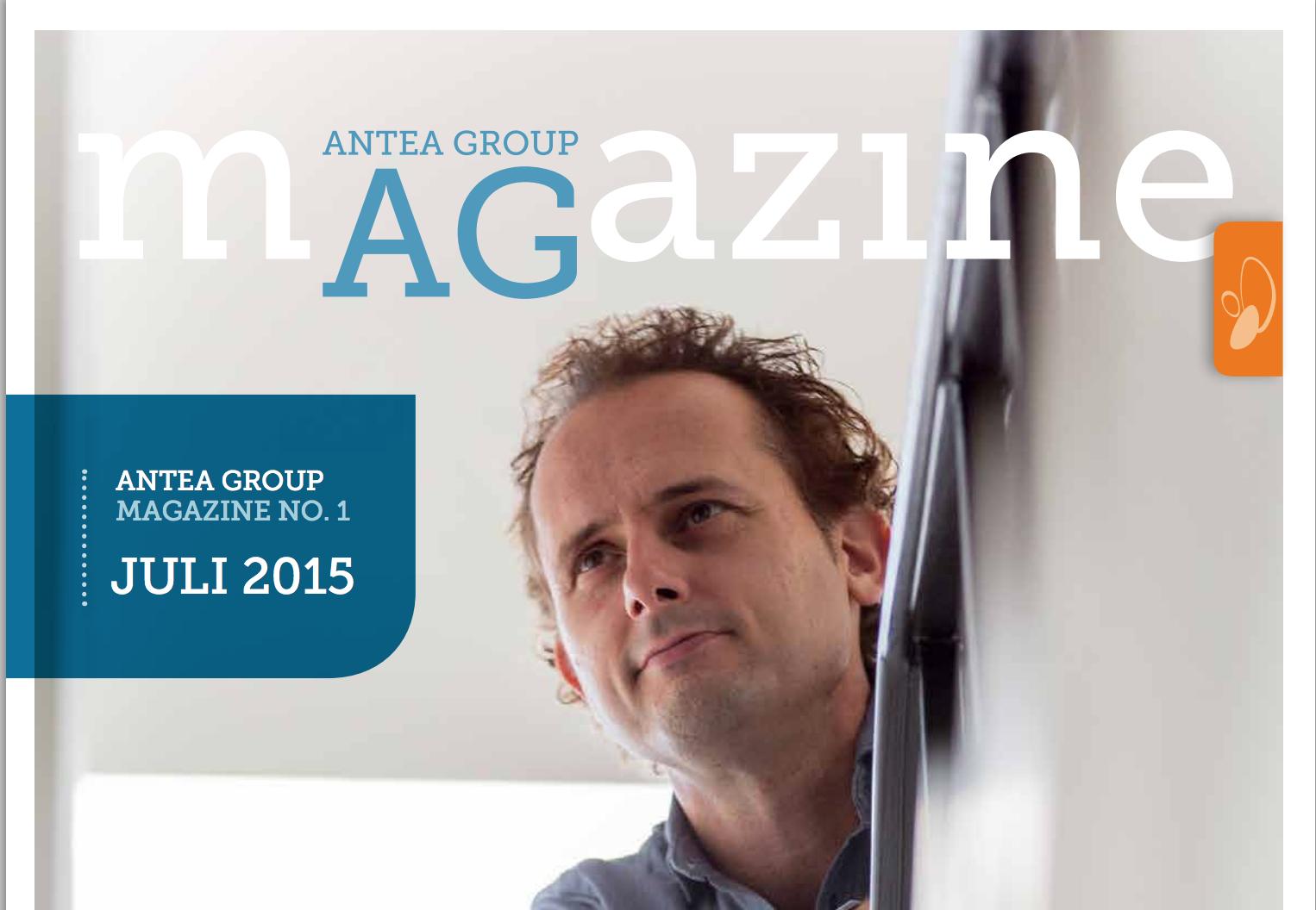 Voorkant Antea Group Magazine